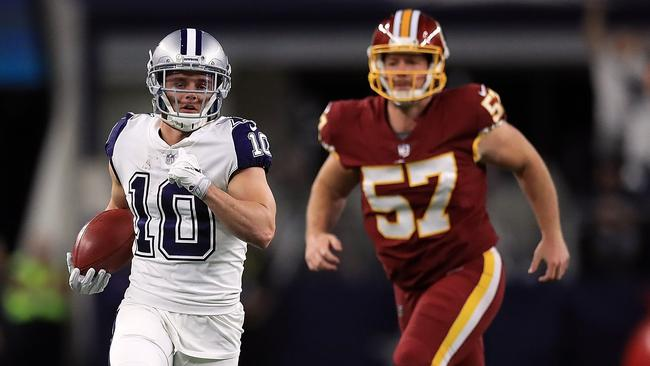 Ryan Switzer returned a punt for a touchdown in Dallas' win over Washington. Photo: Ronald Martinez (Getty Images/AFP)