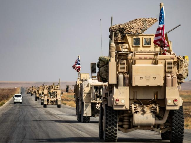 US soldiers will head to Iraq after being evacuated from northern Syria. Picture: AFP