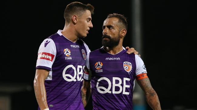 Chris Ikonomidis and Diego Castro are a potent attacking force for Glory.