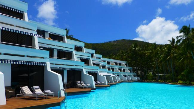Luxury ... Federal Tourism Minister Andrew Robb wants more premium hotels like One & Only Hayman Island in the Whitsundays. Picture: Angela Saurine/News Corp Australia