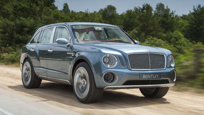 New territory ... Bentley will introduce an SUV to boost sales. Picture: Supplied