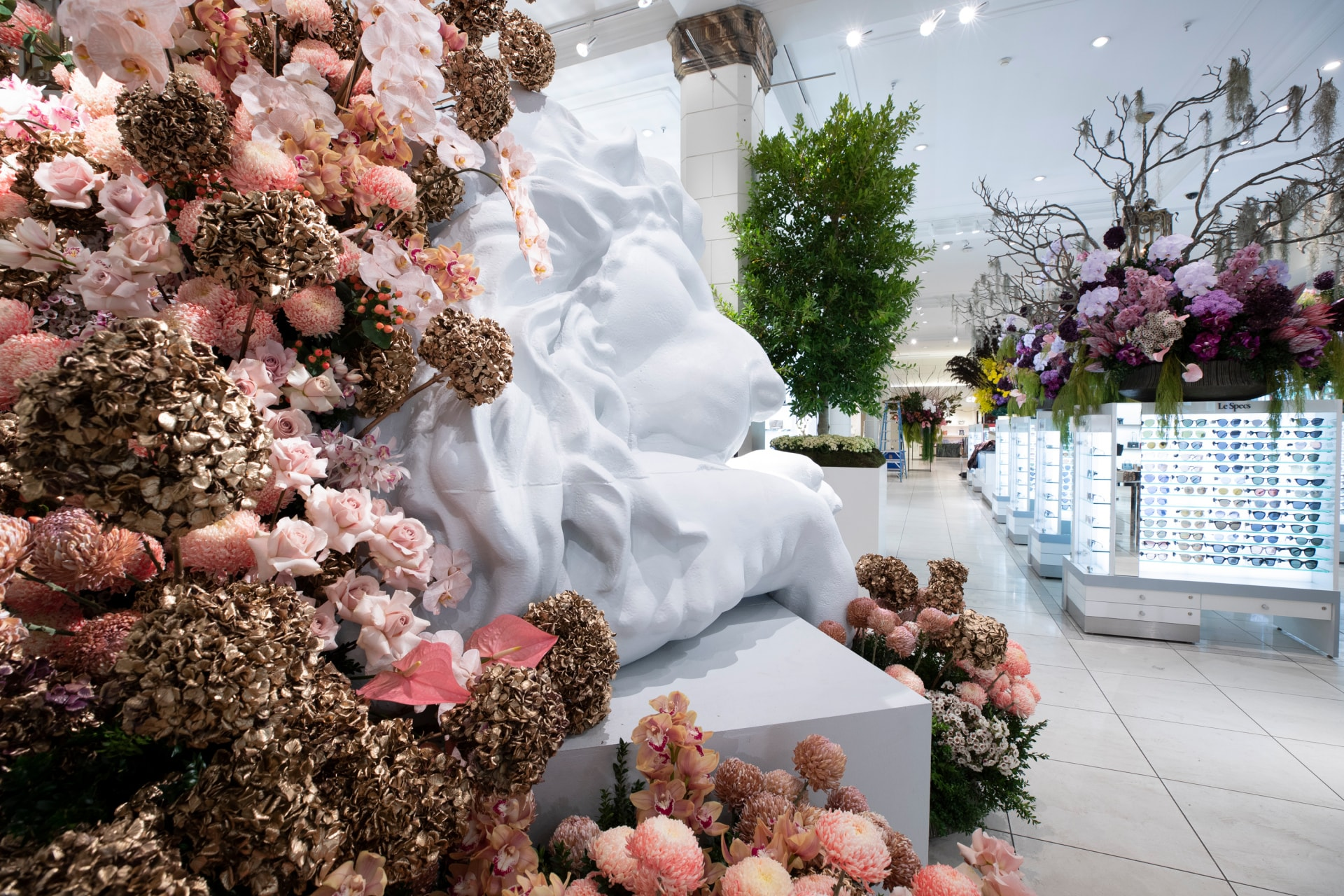 Inside The 2018 David Jones Flower Show Vogue Australia