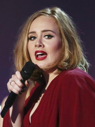 Adele's album  <i>25 </i>was beaten to the number one position by Drake in Apple's album of the year. Picture: Joel Ryan/Invision/AP