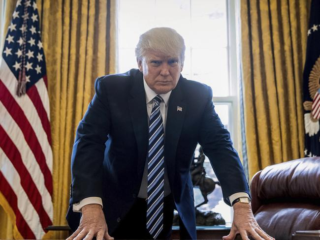 Trump supporters claim his hard line approach is acknowledging a global reality and has seen results in North Korea, but critics claims he is bringing the world closer to nuclear war. Picture: AP Photo/Andrew Harnik, File.