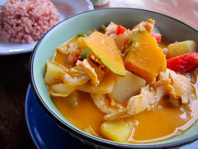 Massaman curry. Picture: Andrew Hyde