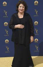 Margo Martindale arrives at the 70th Primetime Emmy Awards on Monday, Sept. 17, 2018, at the Microsoft Theater in Los Angeles. (Photo by Jordan Strauss/Invision/AP)