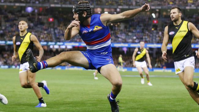 Caleb Daniel has transformed his game since moving to defence.