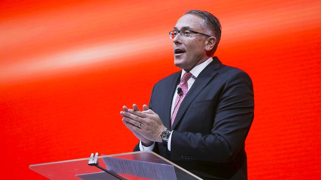 Foxtel CEO Patrick Delany said additional streaming services will be added in the coming months. Picture: Dylan Robinson