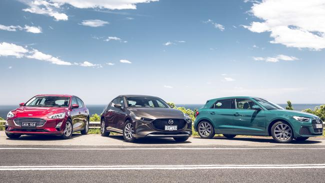 The Ford Focus, Mazda3 and Audi A1 are three of the best small cars to arrive in 2019.