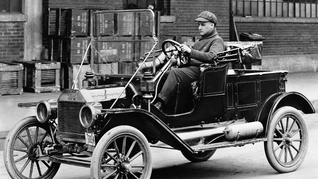 The Ford Model T — the first car to be mass-produced — was introduced on this day in 1908.