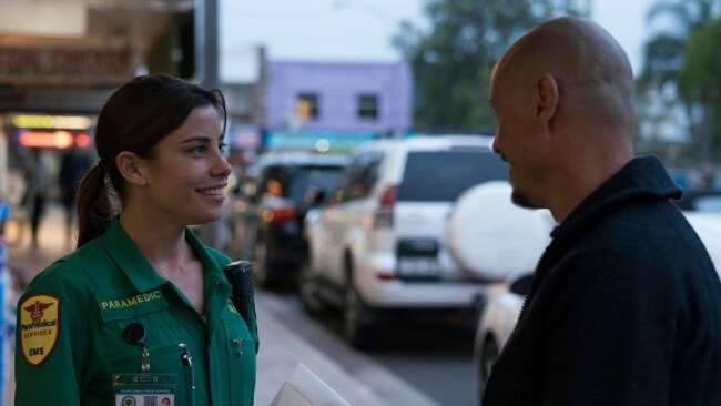 Aussie actress Brooke Satchwell is gaining more and more international exposure. Image: 'Mr Inbetween'.