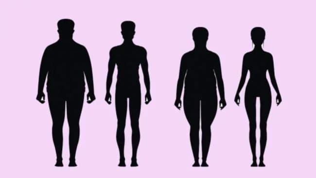 People hold fat in different places. Image: iStock.