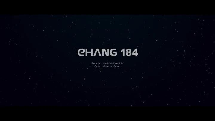 Ehang 184 personal drone test
