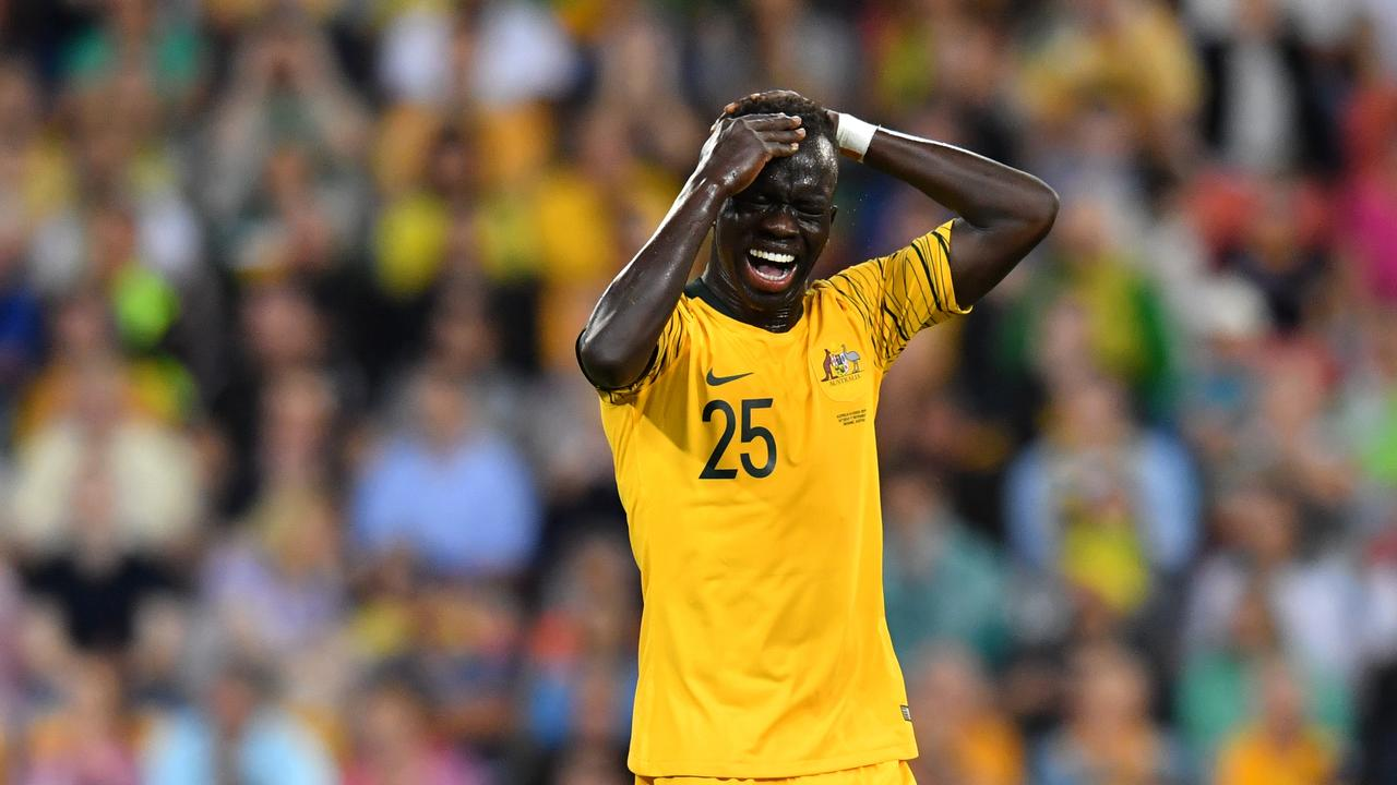 Awer Mabil of the Socceroos