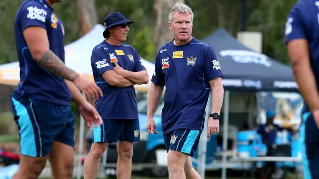 Even with the addition of Cartwright Titans coach Garth Brennan says he still has two positions to fill on his 2018 roster. Photo: David Clark