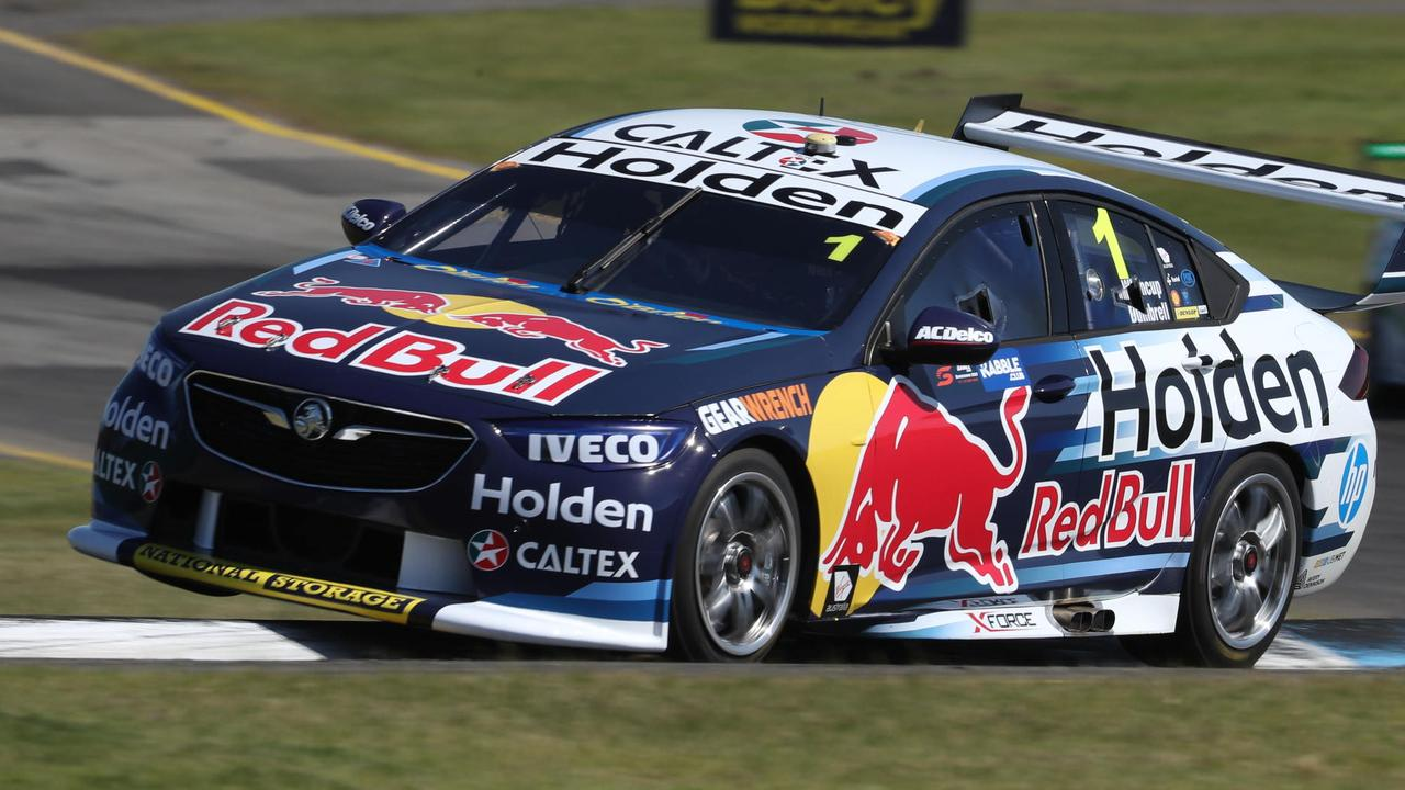 Jamie Whincup topped Practice 2 for the Sandown 500. Pic: Mark Horsburgh