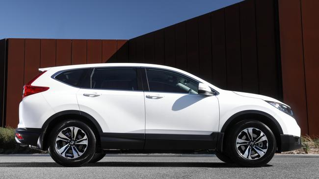 The CR-V isn't the sportiest of SUVs.