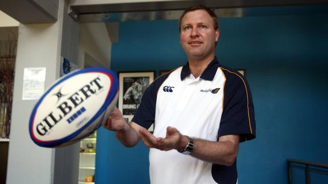 Rugby Australia high performance manager Ben Whitaker.