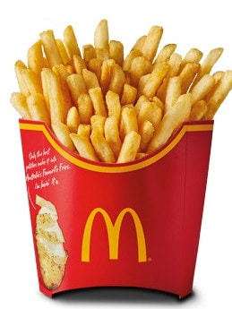 From today until February 12, Macca's is giving away a large fries …