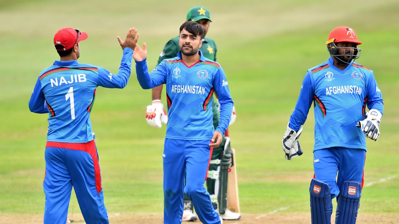 Afghanistan has a world-class spin attack.