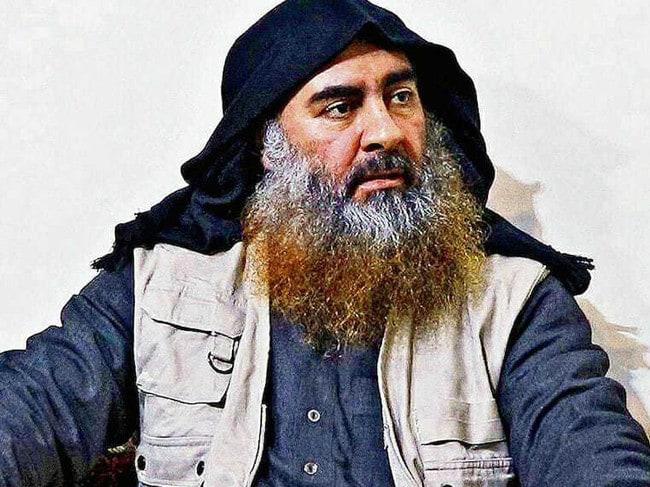 Islamic State leader Abu Bakr al-Baghdadi. Picture: Department of Defense