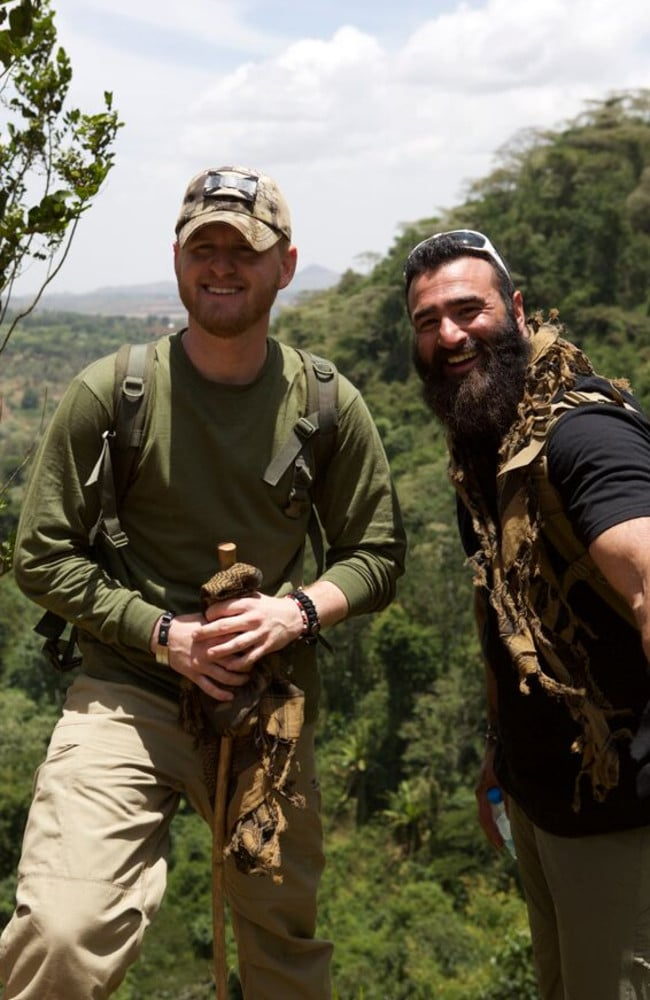 Ryan Tate founded Vetpaw after returning from serving in Iraq when he saw how wildlife was being devastated in Africa.