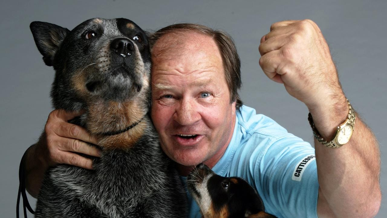 Former NSW State of Origin player and coach Tommy Raudonikis coined the 'Cattledog' cry.