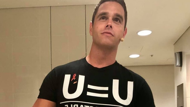 Karl Schmid has become a face of the U=U campaign.
