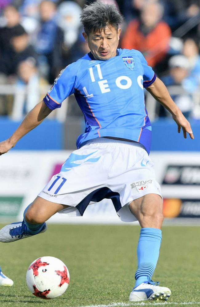 Kazuyoshi Miura wants to play until he's 60.