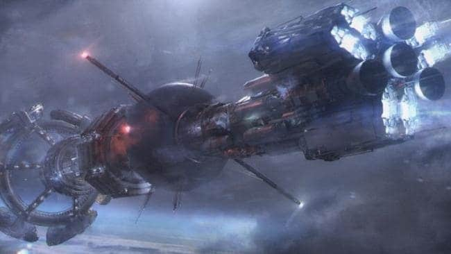 A concept image from the upcoming SyFy Channel's new George R.R. Martin television series, Nightflyers.