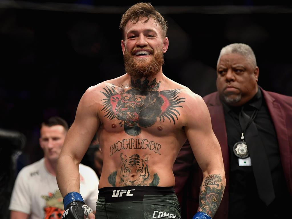 Conor McGregor found himself in hot water once again.