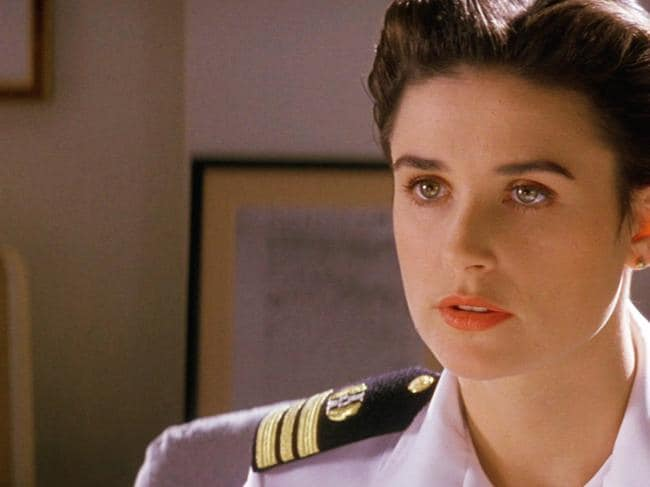 Demi Moore in the film A Few Good Men. Picture: Supplied