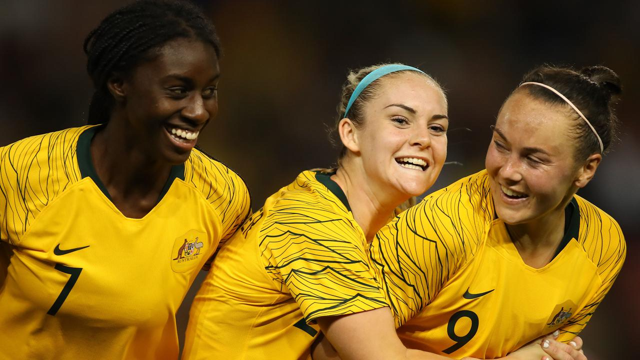 The Matildas are in full preparation for next year's World Cup. Picture: Getty Images
