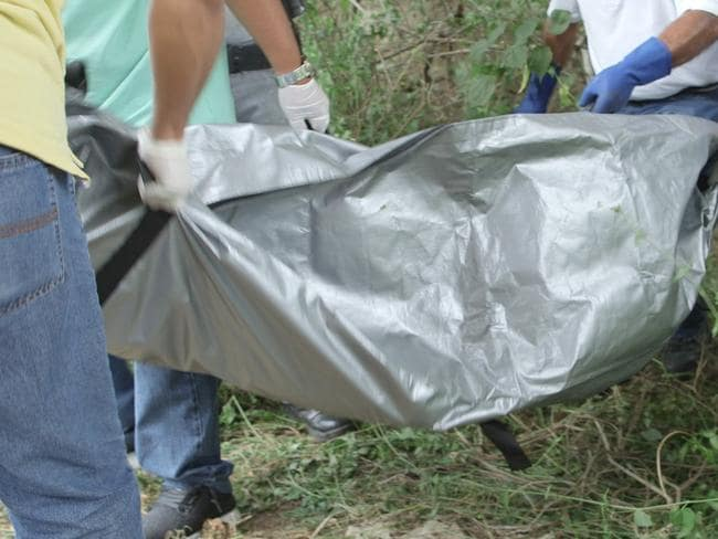 Body bags abound.