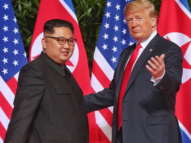 This was a huge step for totalitarian dictator Kim in revitalising his image on the world stage.