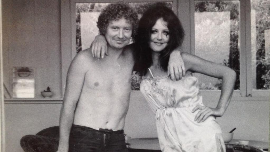 Brett Whiteley and Wendy Whiteley in New York. Picture from Ashleigh Wilson's book, Brett Whiteley: Art Life and the Other Thing. Courtesy Whiteley estate.