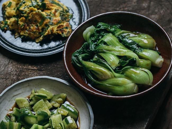 If you want bright, crunchy vegetables, forgo the idea of blanching them in cold water after they have been cooked. Picture: Adam Liaw/Instagram