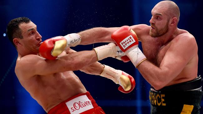 Fury hasn't fought since ending Wladimir Klitschko's heavyweight reign.