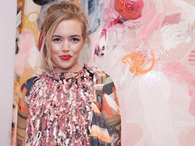 Fashion designer Elle Campbell, a star on the rise.