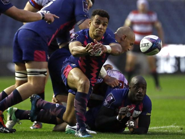 Genia in action for Stade Francais.