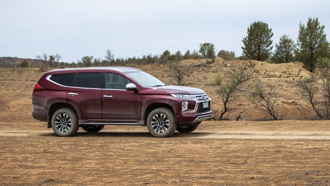 The Pajerpo Sport shares its underpinnings with the popular Triton dual-cab ute.