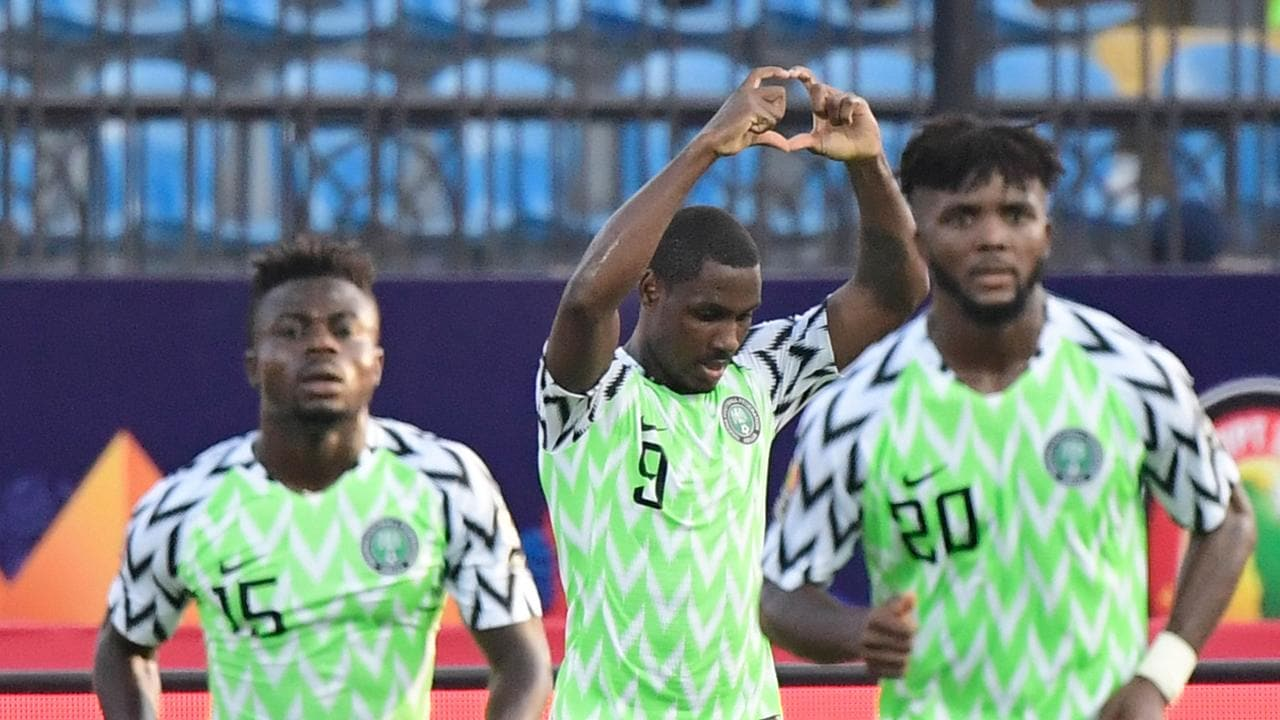 Odion Ighalo helped Nigeria down Cameroon