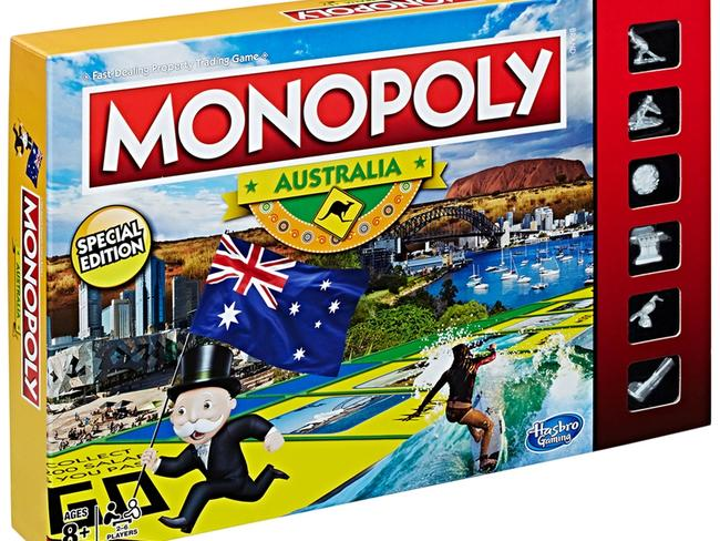 The Australian version of Monopoly is tipped to fly off the shelves again this Christmas.