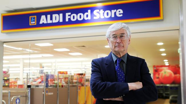 Dick Smith has been a vocal critic of Aldi. Picture: Tim Hunter
