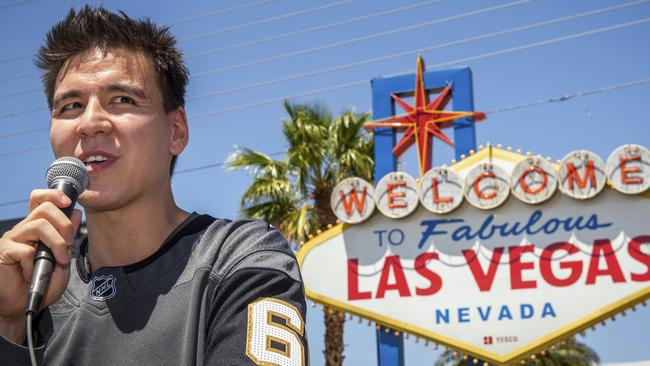 Jeopardy! sensation James Holzhauer was presented with a key to the Las Vegas Strip.