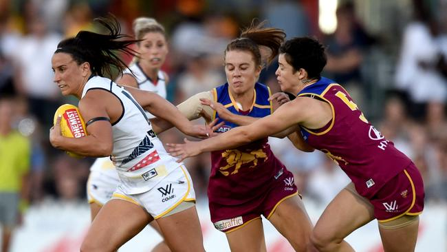 Brisbane Lions and Adelaide will play the AFLW grand final at Metricon Stadium. Picture: Sam Wundke