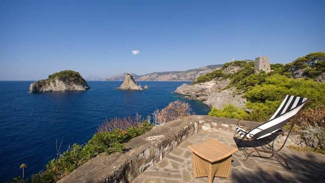 The spectacular view. Picture: LuxuryItalianIsland.com