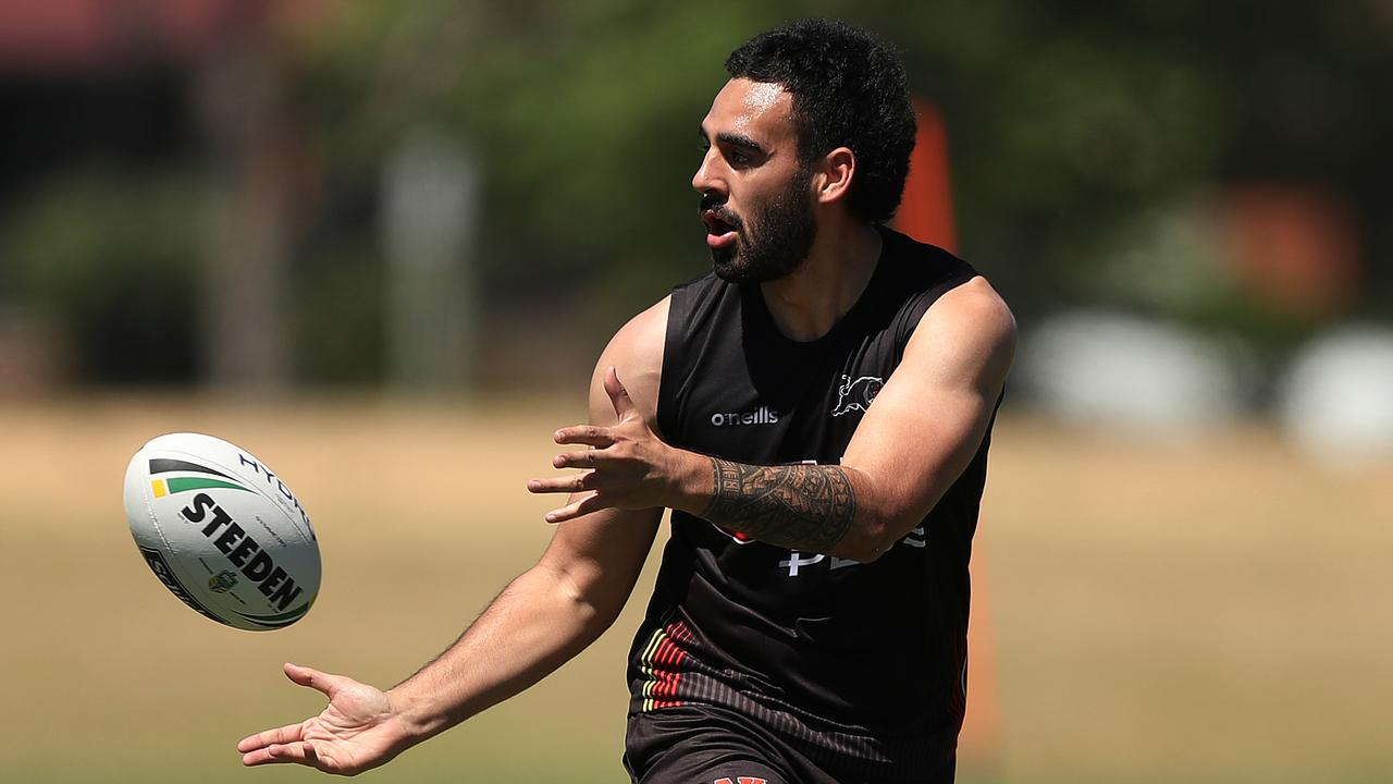Penrith's Tyrone May has been banned for the first five NRL games of 2020.