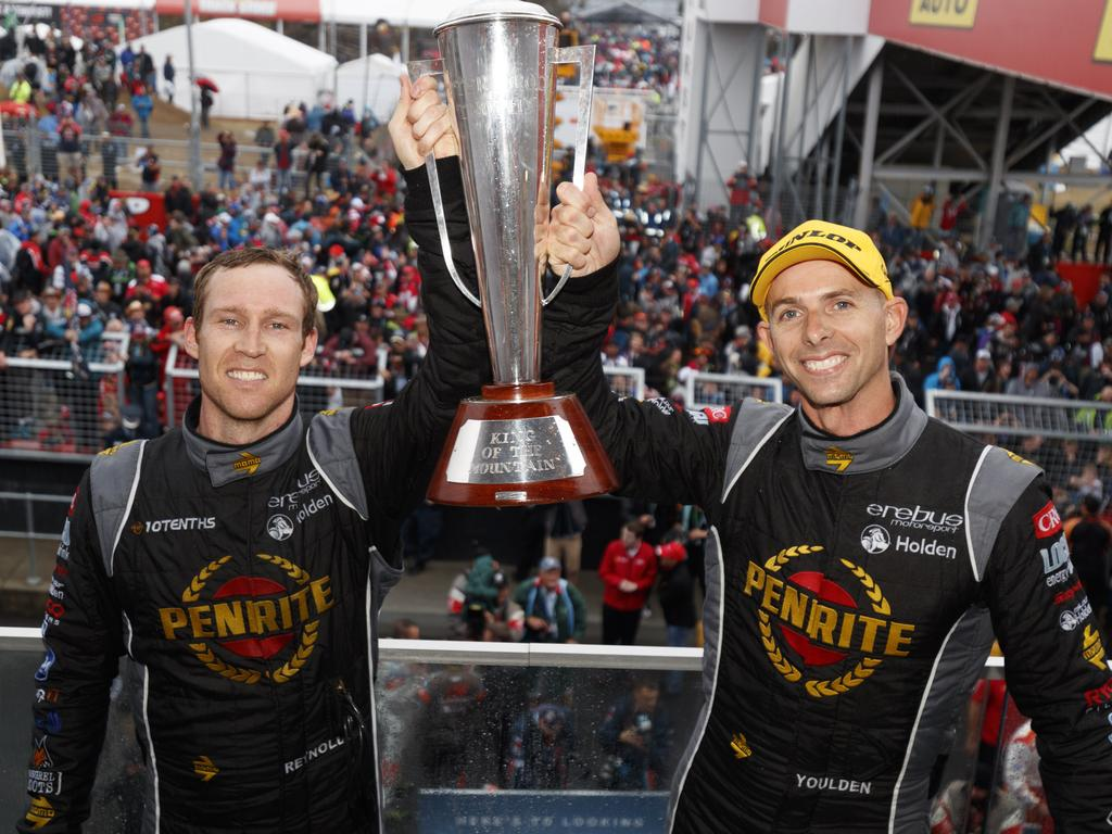 David Reynolds proved his worth in the sport with his 2017 Bathurst win. Pic: Edge Photographics