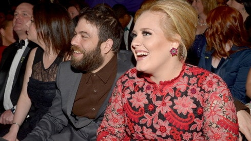 Adele's representatives say she and Simon will continue raising their son 'lovingly' together. Picture: Lester Cohen/WireImage